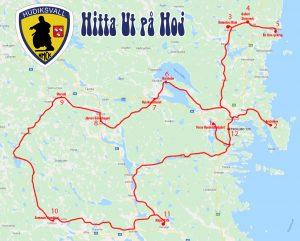 Hitta ut på hoj @ Hälsingland